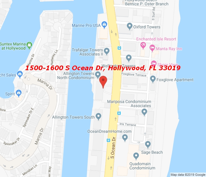 1600 Ocean Dr 17B, Hollywood, Florida, 33019